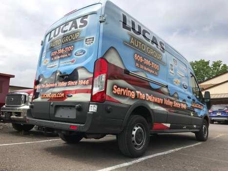 Full Vehicle Wrap for Vans