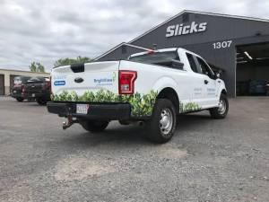 Langhorne pickup truck wraps