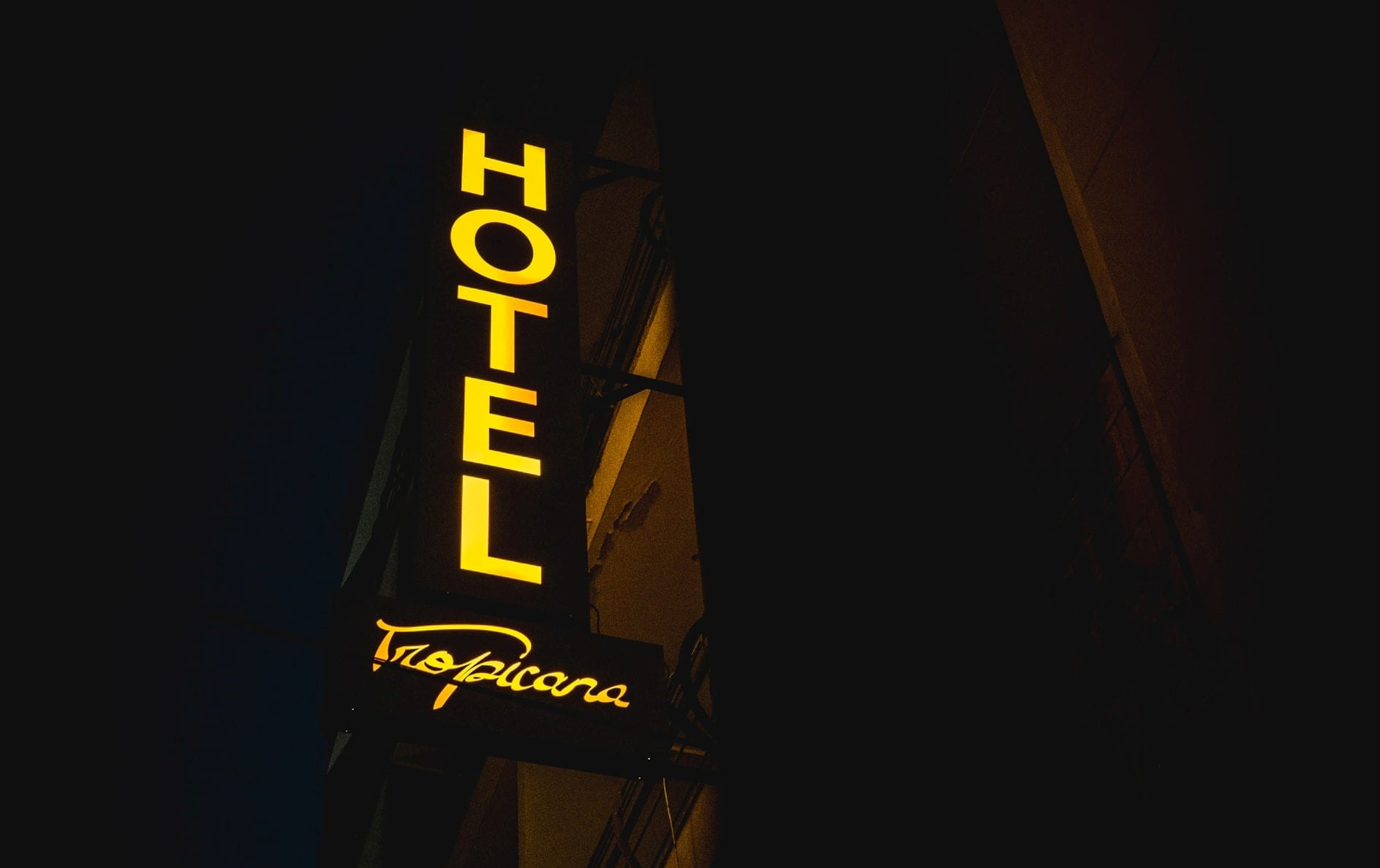 Front-Lit Business Sign