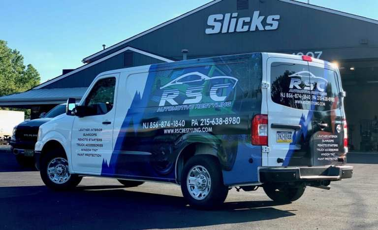 Work Van Wrap for any Industry