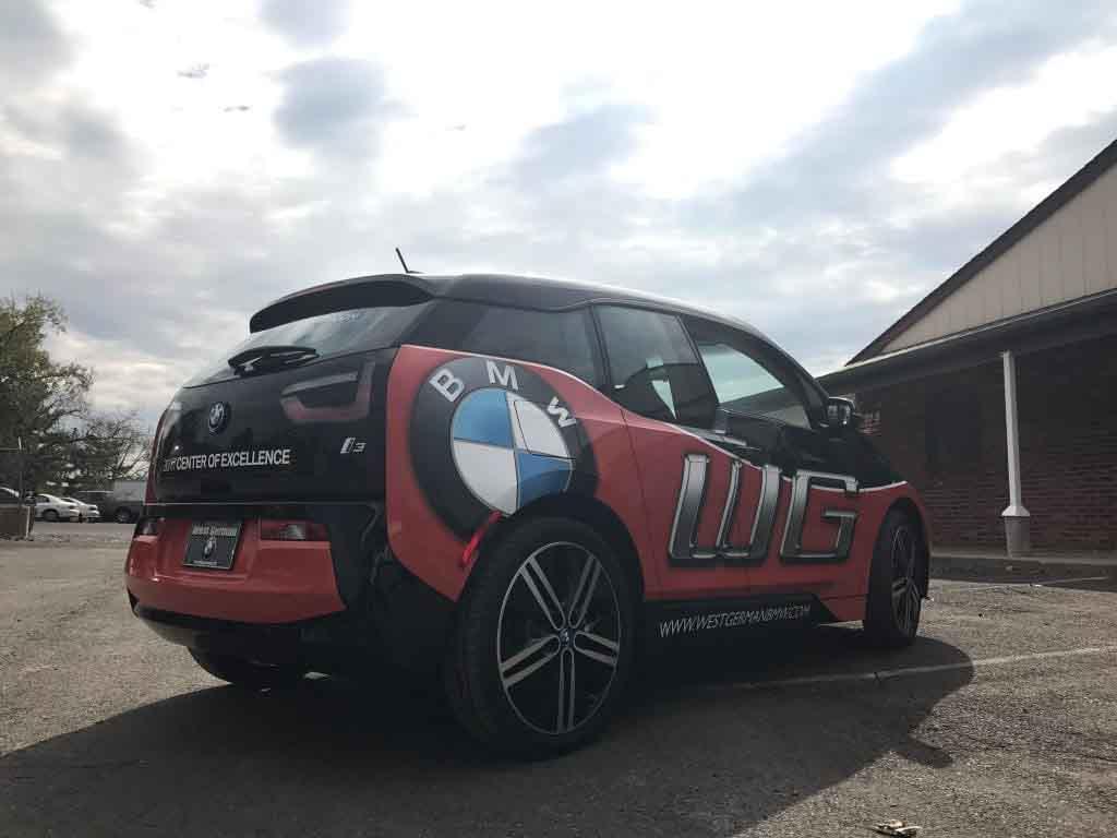 Car Wrap BMW
