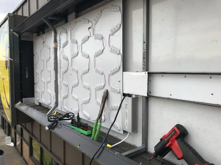 sign removal company