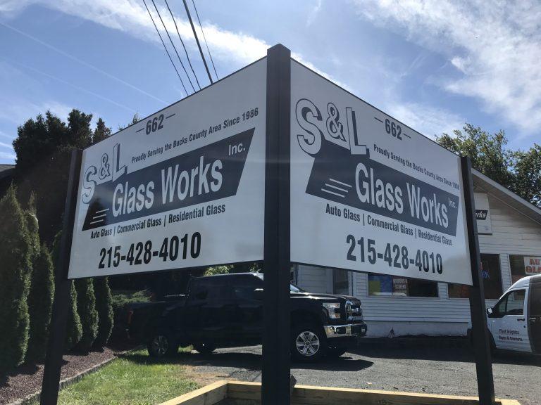 sign installation company