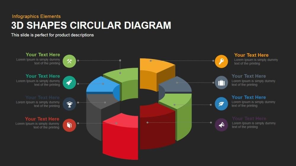 medium resolution of 3d circular diagram powerpoint template and keynote