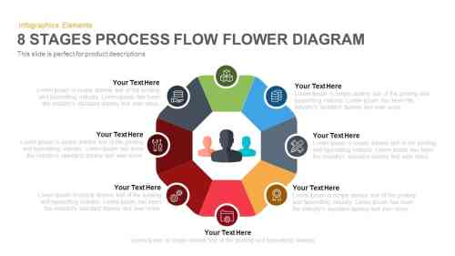 small resolution of 8 stages flower process flow diagram powerpoint template