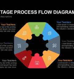 octagon stage process flow diagram powerpoint template and keynote slide [ 1280 x 720 Pixel ]