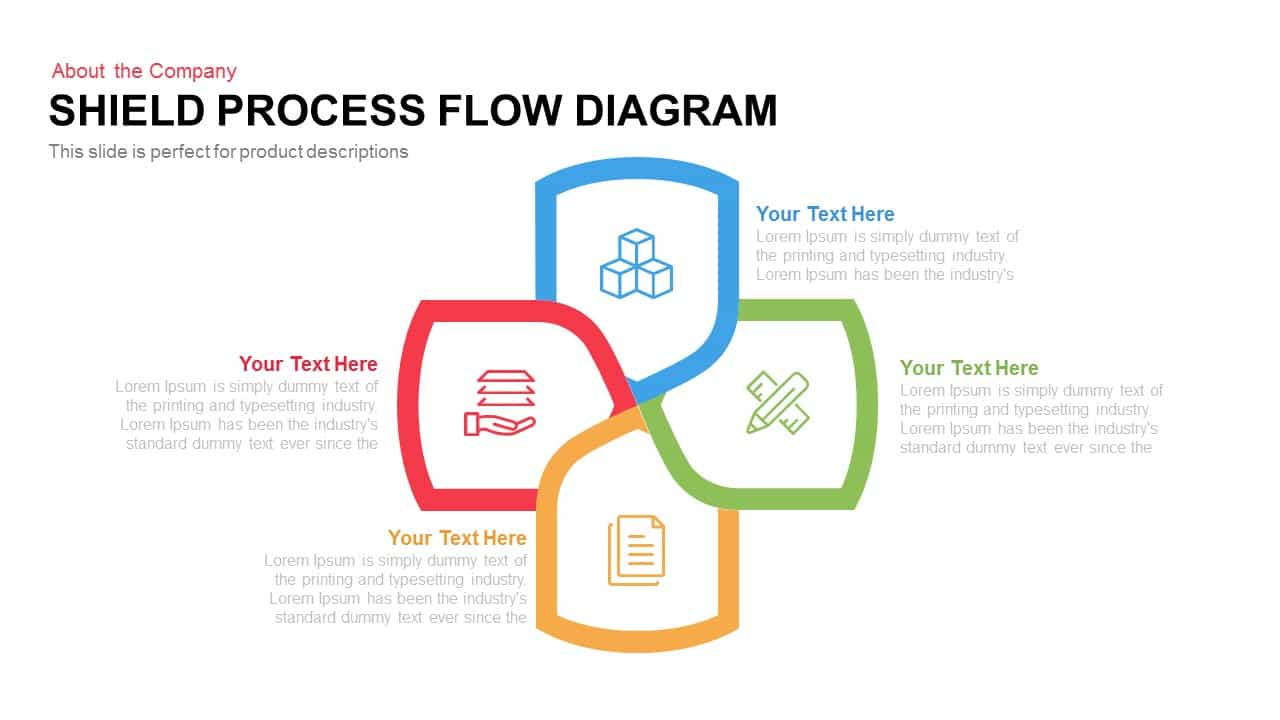 hight resolution of proces flow diagram keynote
