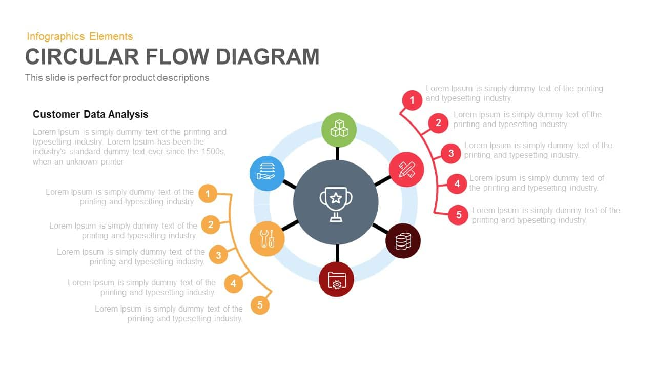 process flow diagram template ppt
