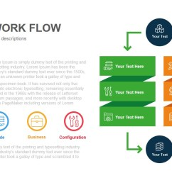 process workflow template for powerpoint and keynote slidebazaar process flow diagram keynote [ 1280 x 720 Pixel ]