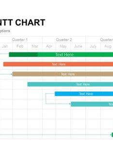 Editable gantt chart also powerpoint template and keynote slidebazaar rh