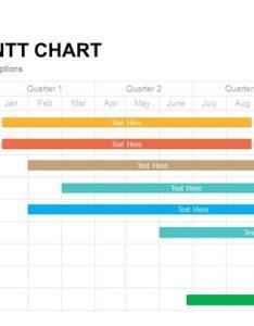 Editable gantt chart powerpoint template and keynote slide also slidebazaar rh