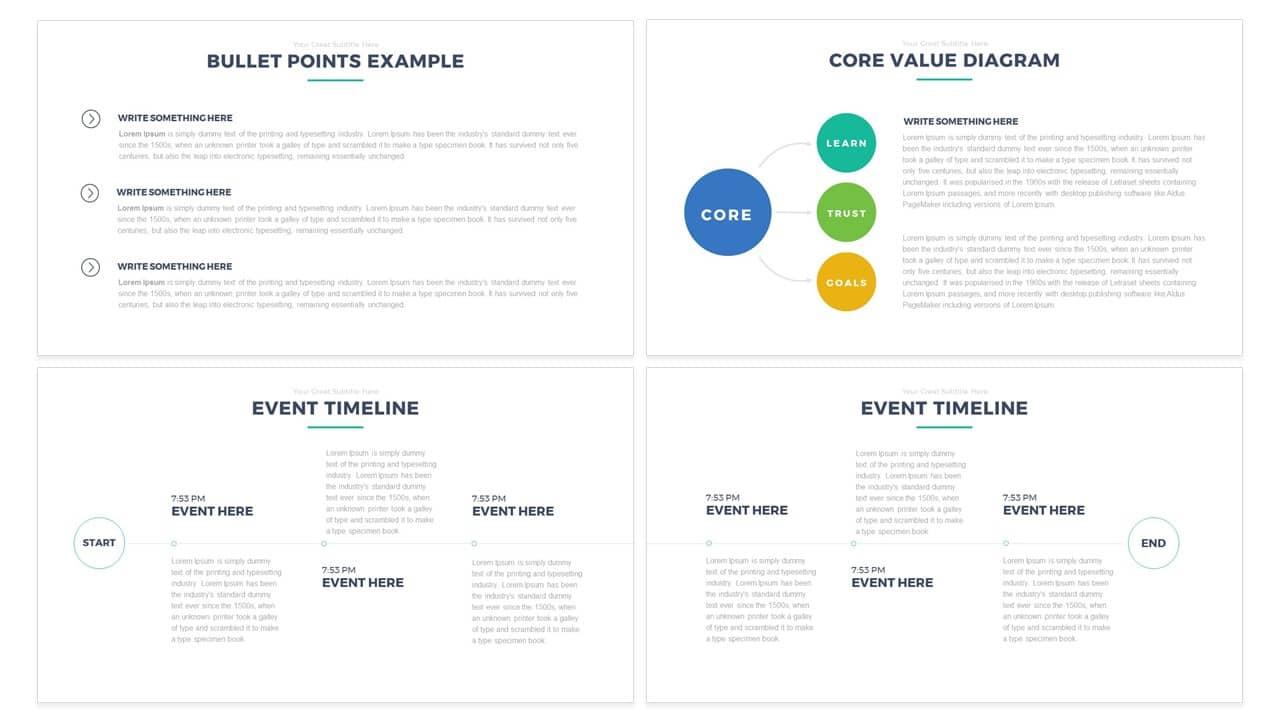 Simple: Multipurpose PowerPoint Template & Keynote Free