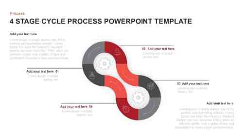 small resolution of cycle process powerpoint template and keynote