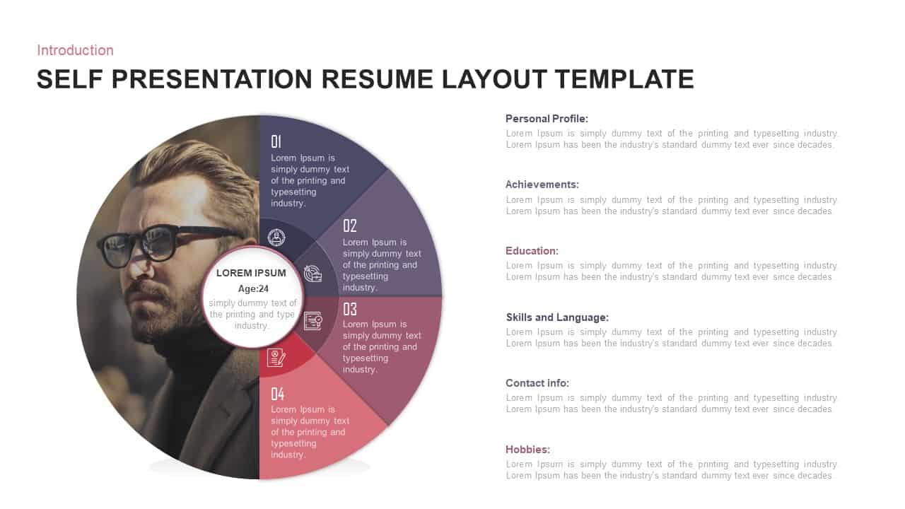 download powerpoint resume templates