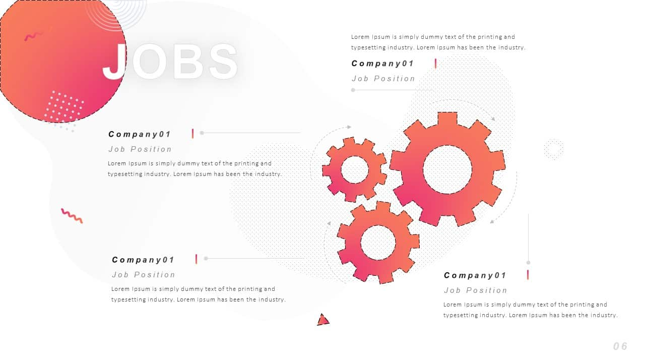 Resume Ppt Template Free Download