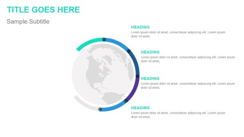 small resolution of globe infographic template