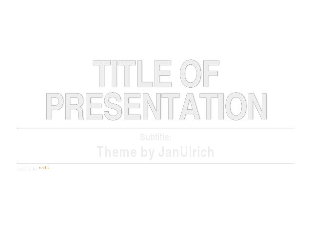 Repository of tech presentations hosted on github and