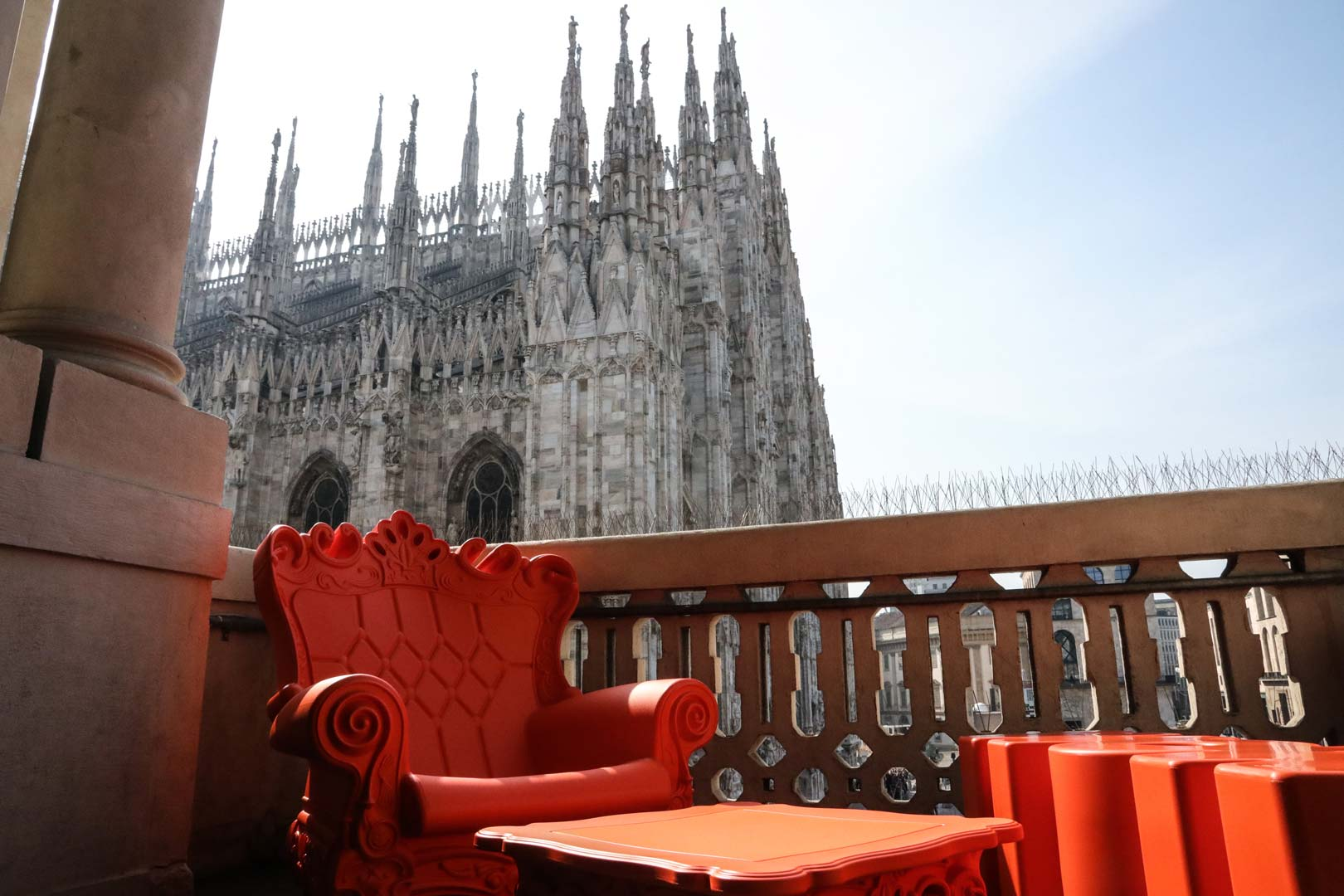 Terrazza Aperol Milano Mi Milano Design Week 2018 Slide Design