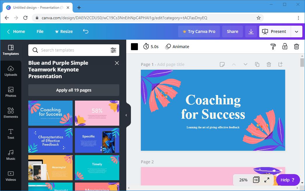 Best Websites for Making Presentation Images
