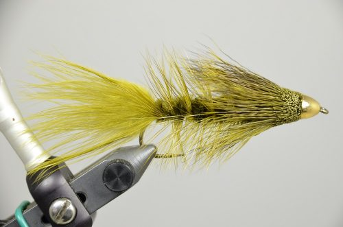 Galloup's Conehead Wooly Sculpin Olive