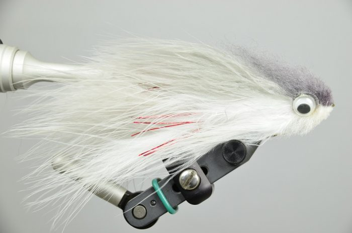 T&A Bunker Shad Gray White