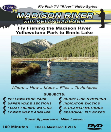 Fly Fishing The Madison River DVD with Kelly Galloup