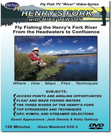 Fly fishing the Henry's Fork with Mike Lawson