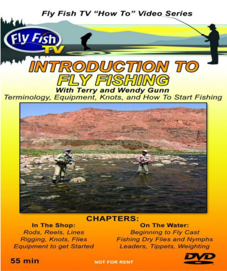 Introduction to Fly Fishing DVD with Terry and Wendy Gunn