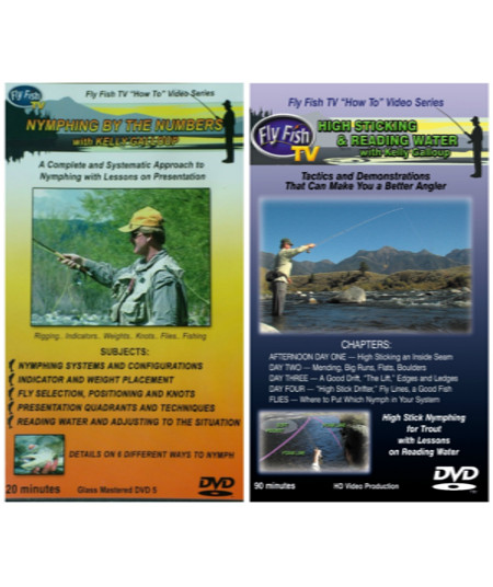 Kelly Galloup Nymph Fishing DVD Pack