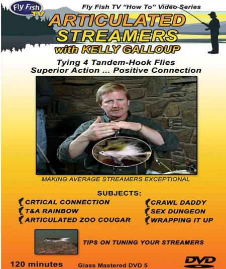 Tying Articulated Streamers with Kelly Galloup DVD