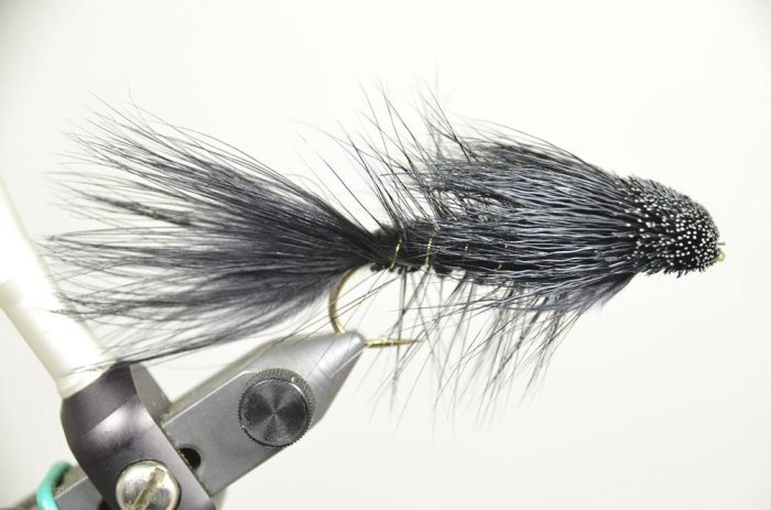 Galloup's Wooly Sculpin Black