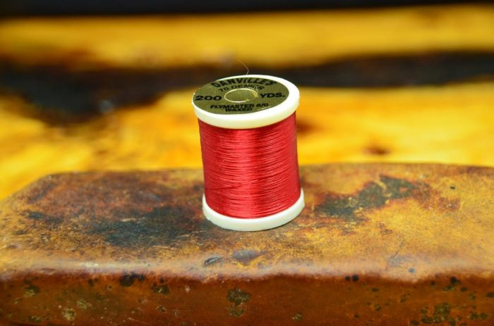 danville flymaster thread 6 0 waxed red