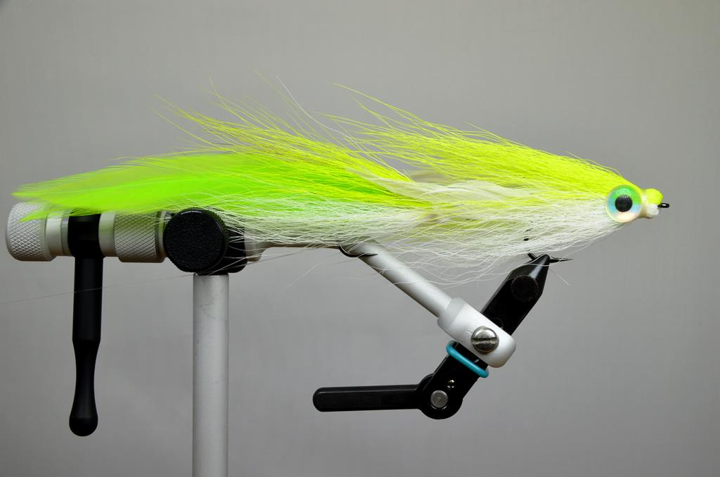 double deceiver chartreuse white