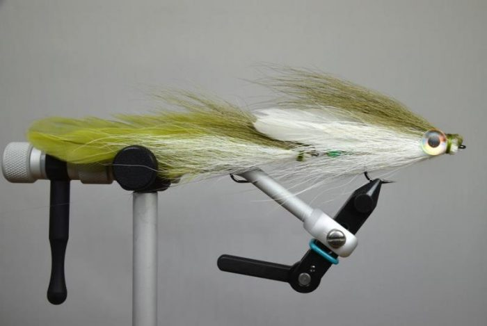 double deceiver olive white