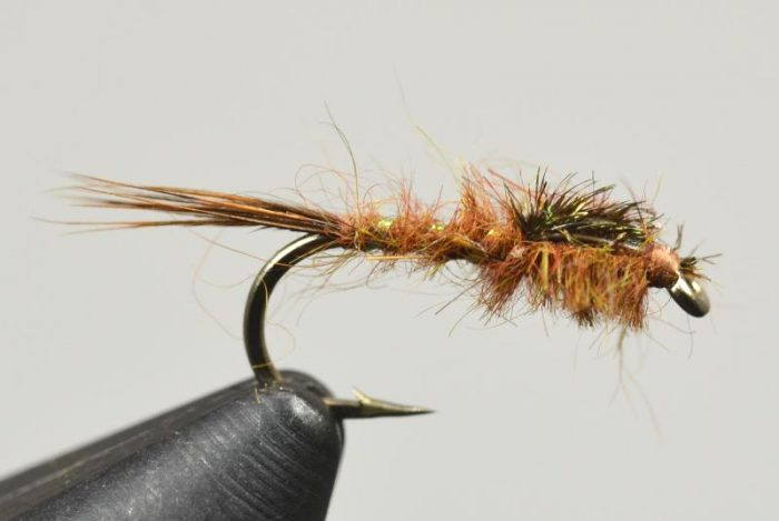 galloup's hares ear brown