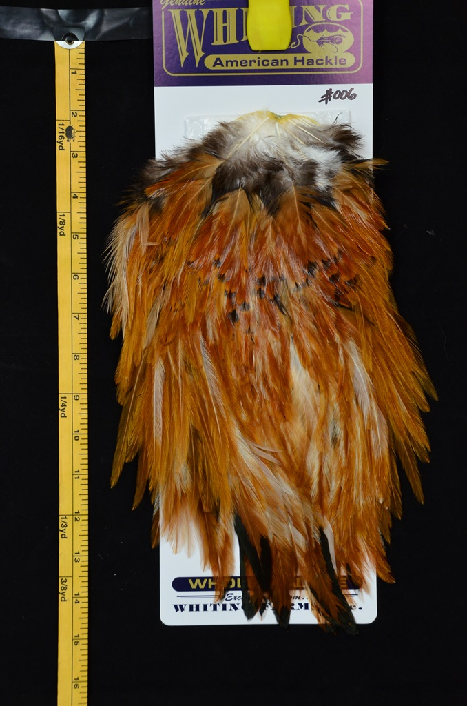 whiting american rooster saddle medium ginger 006