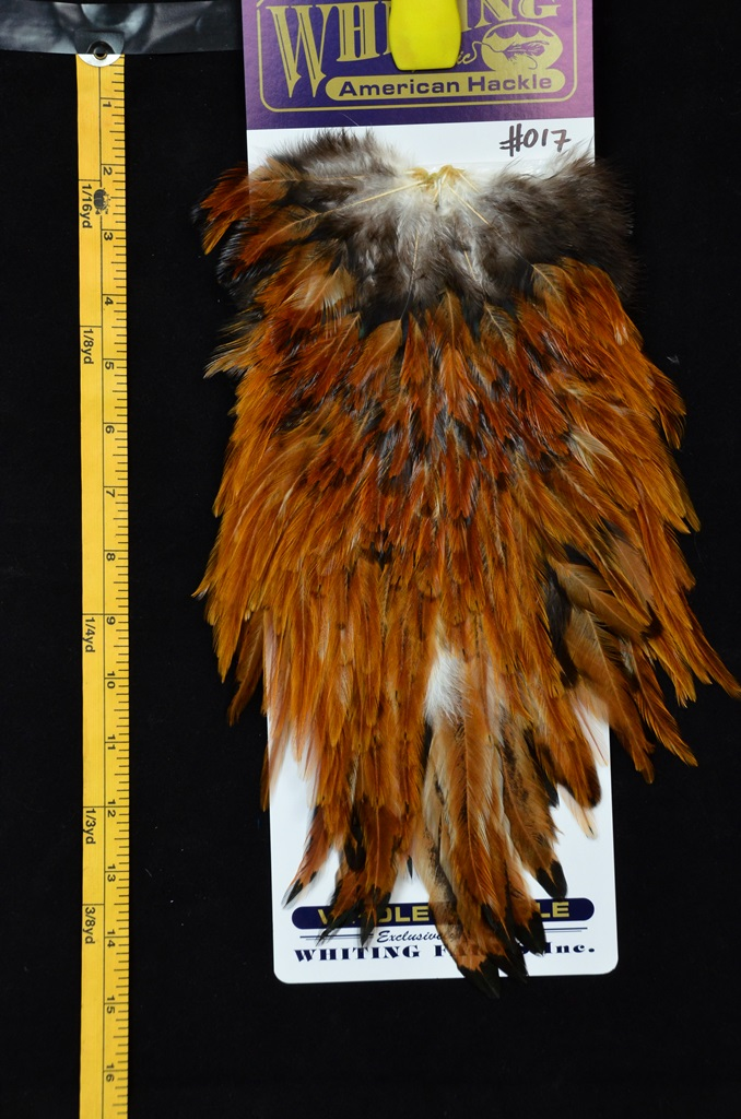 whiting american rooster saddle medium ginger 017