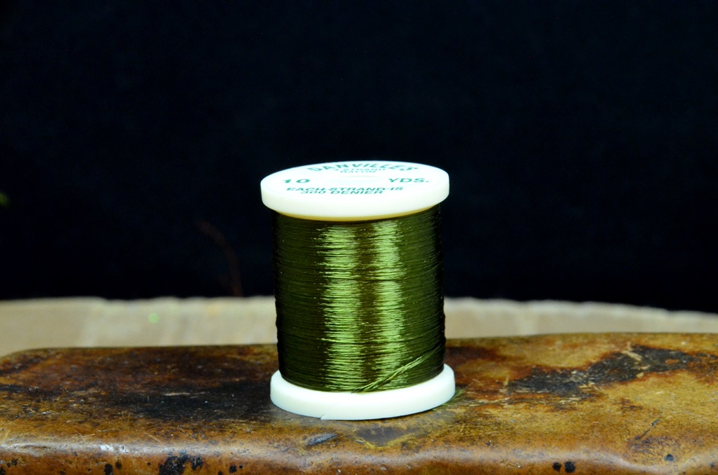 danville 4 strand rayon floss olive