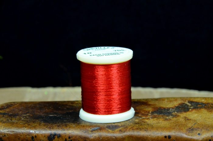 danville 4 strand rayon floss red