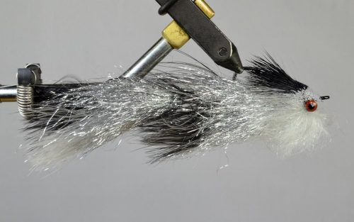 cheech's articulated trout slider black silver