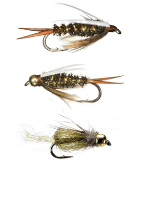 b) Nymphs and Emergers