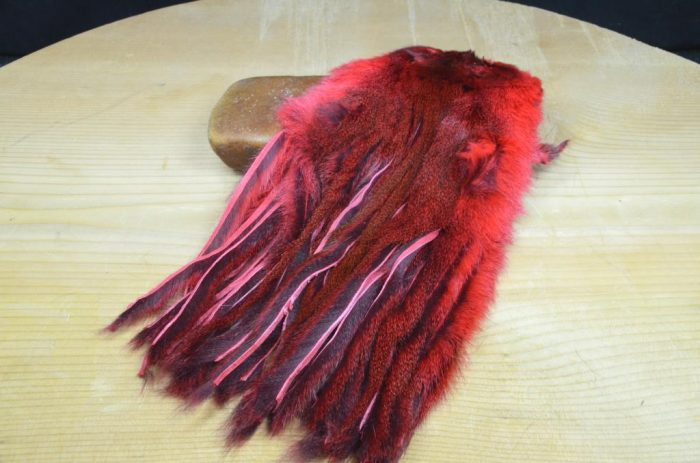 pine squirrel skin zonked leech red