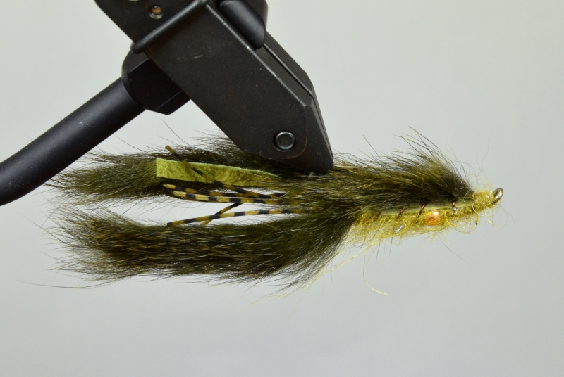 galloup's belly bumper craw olive
