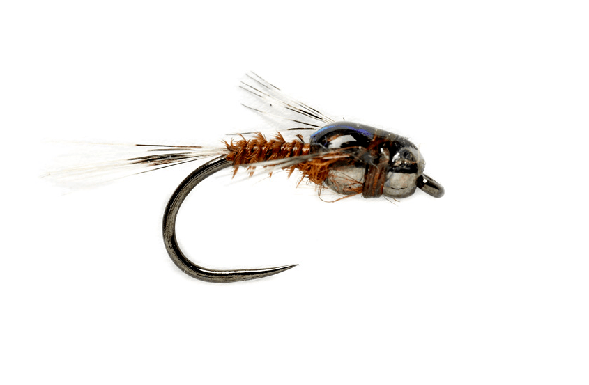 tungsten twisted mayfly brown