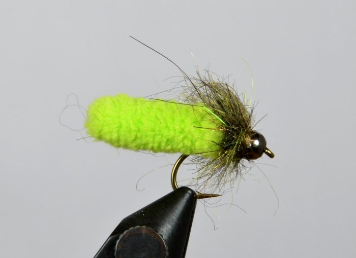 mop fly chartreuse