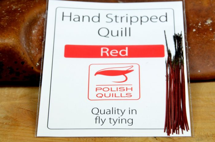 polish quills red