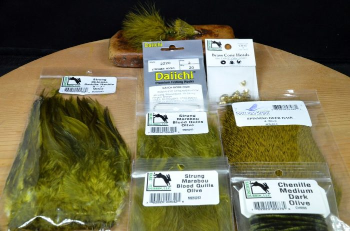 ch wooly sculpin tying kit olive 2