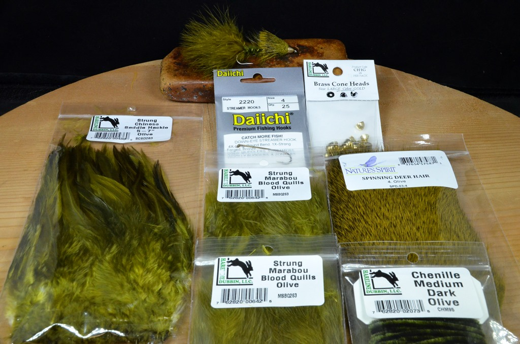 ch wooly sculpin tying kit olive 4