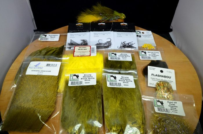 menage a dungeon tying kit olive yellow