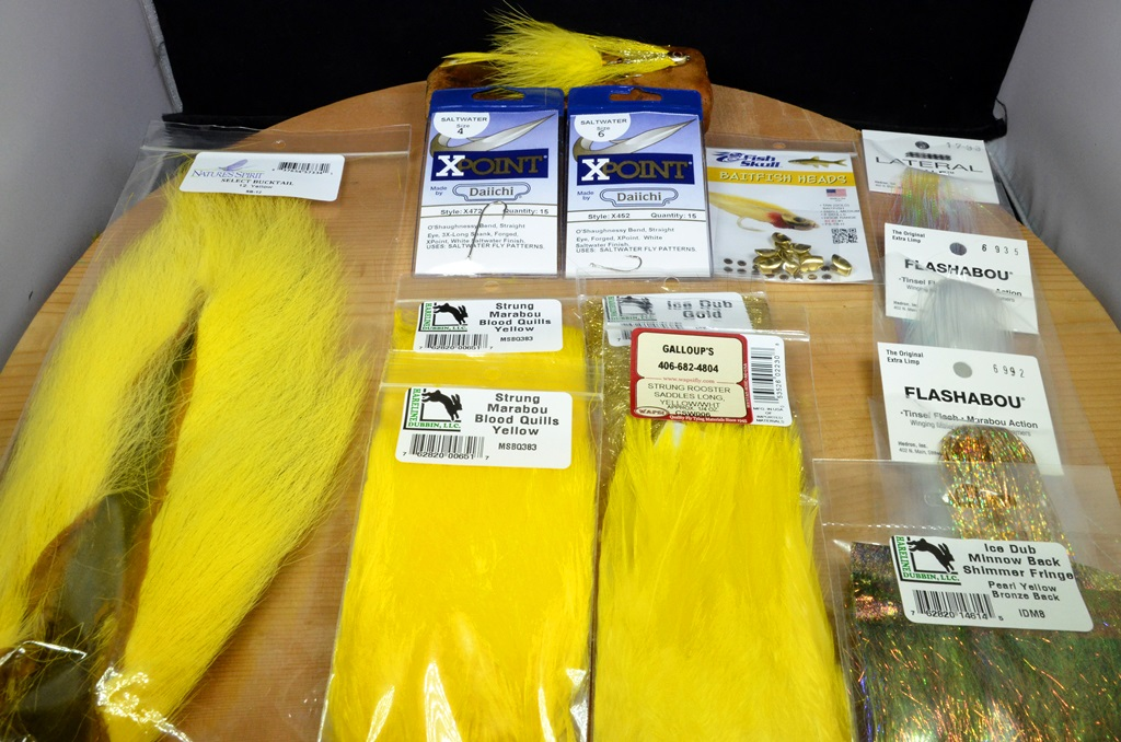 pearl necklace tying kit yellow saltwater